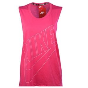 Nike Pink Muscle Tank